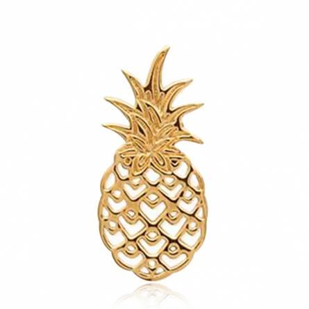 Pendentif Plaqué Or Ananas