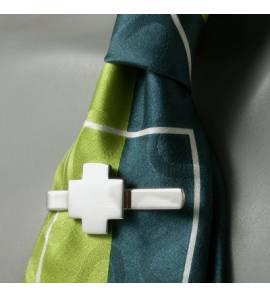 Pince à cravate Monacale argent