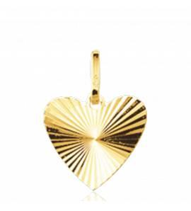 Pingente ouro Attraction coração amarelo