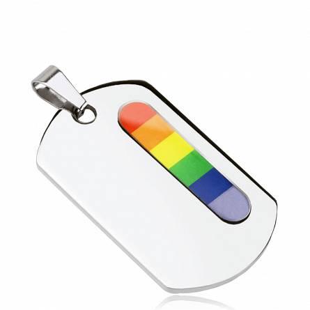 Plaque Acier Rainbow