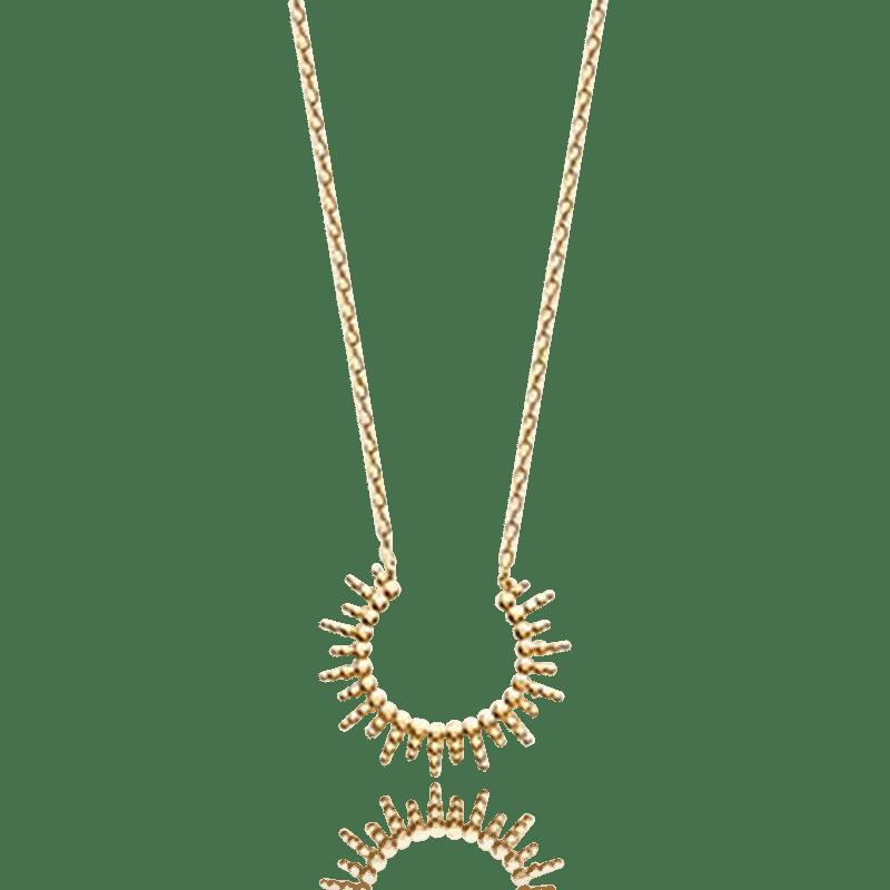 collier femme plaques