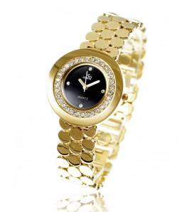 Relógio feminino banhado a ouro Orthense