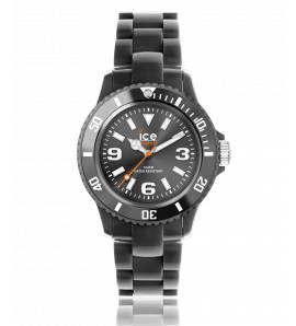 Relógio feminino plástico Solid preto