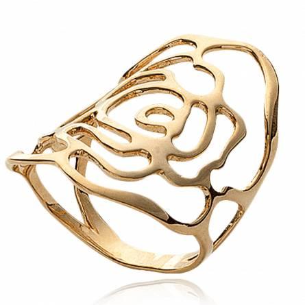 Ringe frauen goldplattiert Expression
