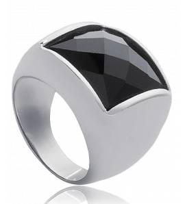 Ringen dames steen Constellation zwart