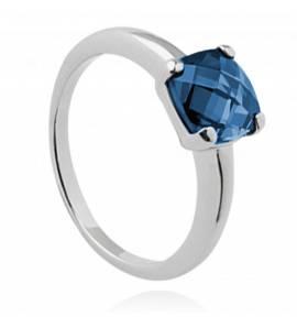 Ringen dames zilver Abelone blauw