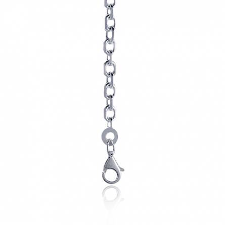 Silver forcat chains