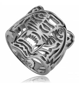 Silver Rathe ring