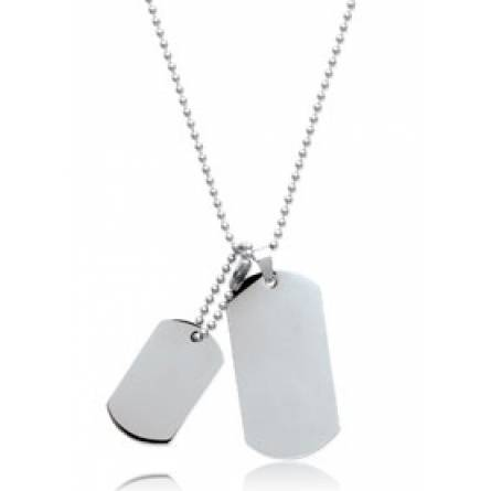 Stainless steel Joe necklace