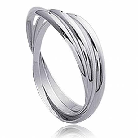 Verighete argint 3 anneaux