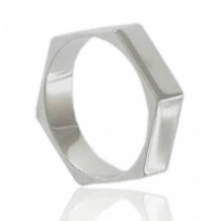 Verighete barbati argint Mécanique