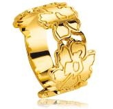 Woman gold plated Ardia ring