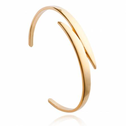 Woman gold plated Chiela bracelet
