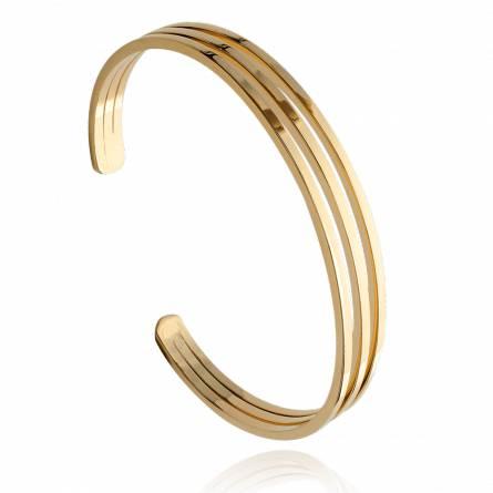 Woman gold plated Christabel bracelet