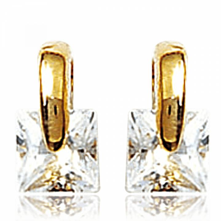en woman bolzon gold yellow earrings white and