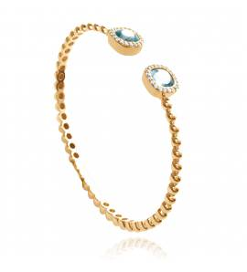 Woman gold plated Hadelind bracelet