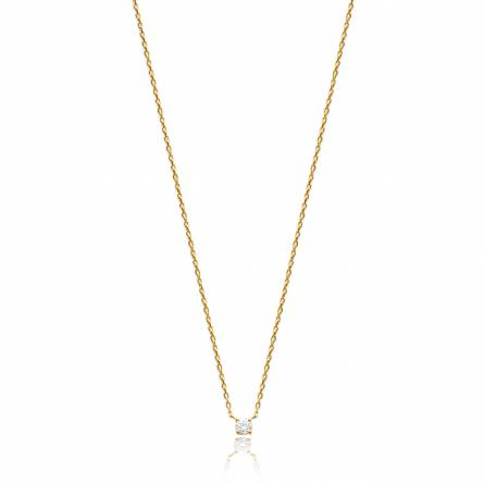Woman gold plated Hadriana necklace