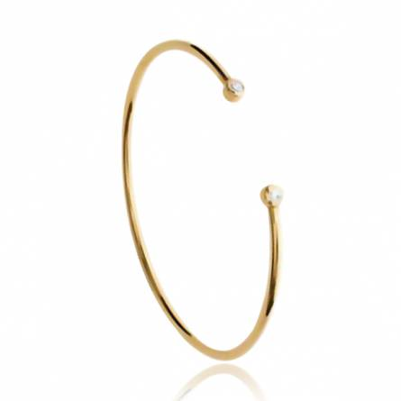 Woman gold plated Montaine yellow bracelet