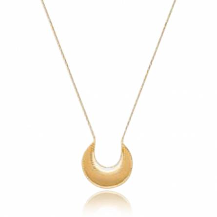 Woman gold plated Radbod necklace