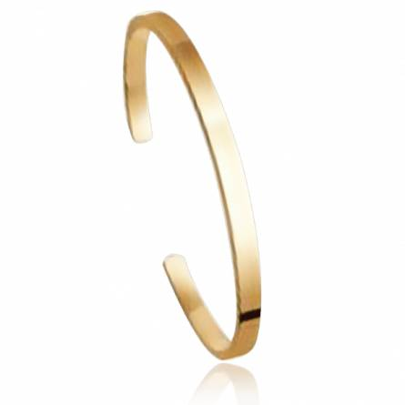 Woman gold plated Sancie yellow bracelet