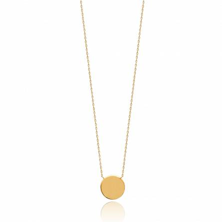 Woman gold plated Zakaria necklace