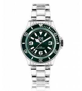 Woman plastic ICE Pure green watch