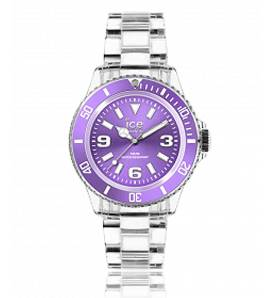 Woman plastic ICE Pure purple watch