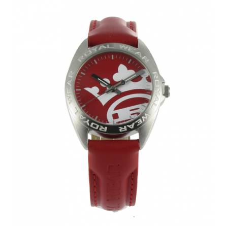 Woman red watch