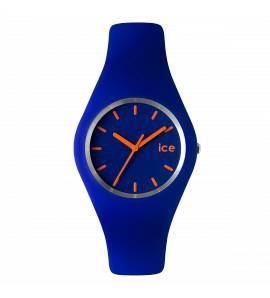 Woman silicon ICE blue watch