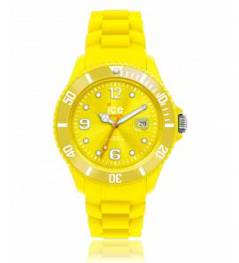 Woman silicon Ice Forever yellow watch