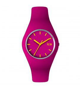 Woman silicon ICE pink watch