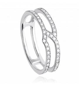Woman silver Aemilia ring