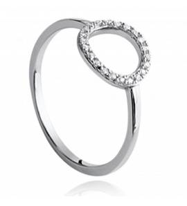 Woman silver Akilah ring