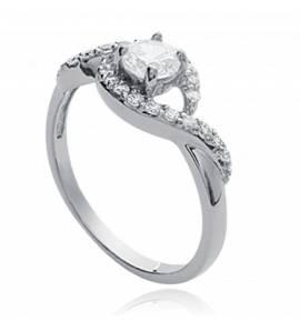 Woman silver Antonella ring