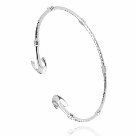 Woman silver Bayla bracelet