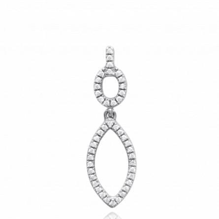 Woman silver Bettie pendant