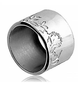 Woman silver Feuillage ring