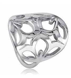 Woman silver Ligne Sakura Range ring