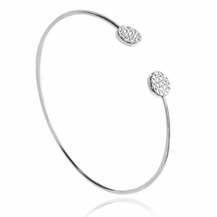 Woman silver Yolène bracelet