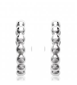 Woman silver Zelda earring