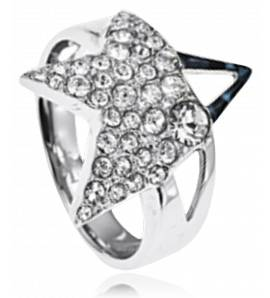 Woman stainless steel Boreale ring