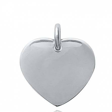Woman stainless steel Cherette hearts pendant