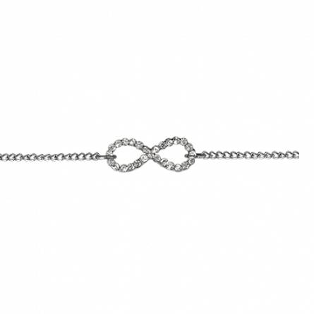 Woman stainless steel Galla infinity chains