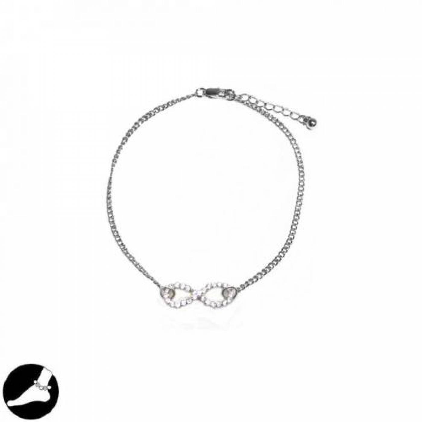 box luxury chain plated cubic round bracelet amazon shape gold infinity zirconia com pin chains