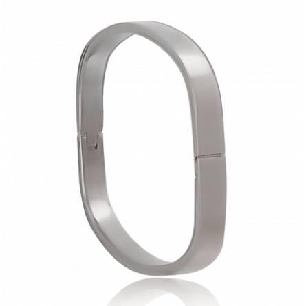 Woman stainless steel Hô bracelet