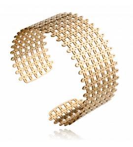 Woman stainless steel Rachel yellow bracelet