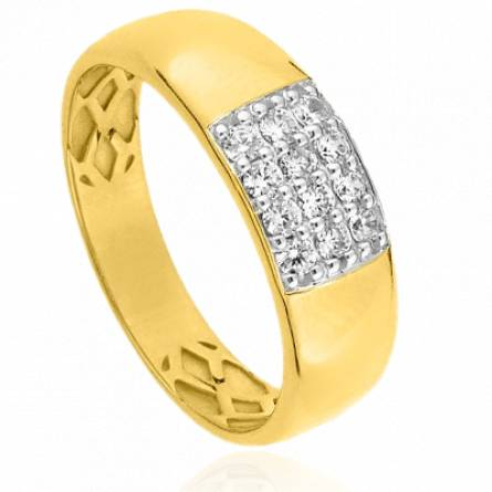 Bague femme or Phesia