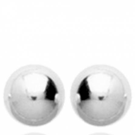 Boucles d'oreilles femme argent Bolacena