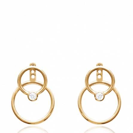 Boucles d'oreilles femme Esjar ronde