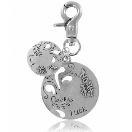 Brelocuri femei argint metalic Luck asie